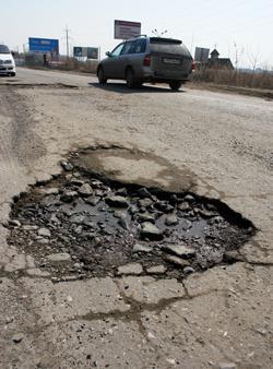 90 київських доріг потребують ремонту