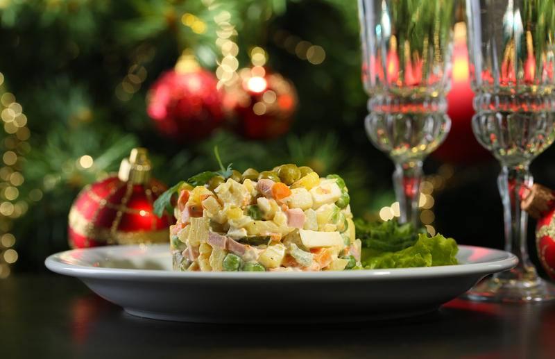 салат новогодняя ночь фото